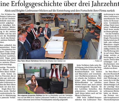 Passauer Neue Presse Beitrag