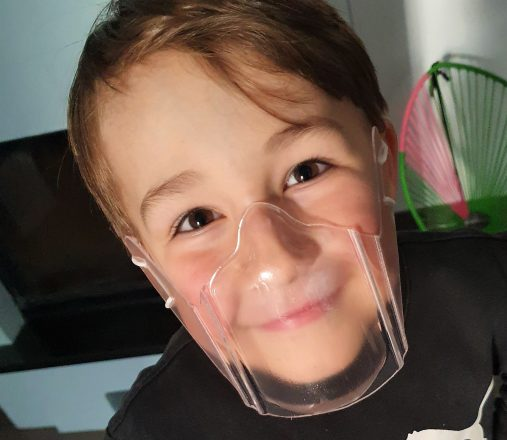 Community Maske aus Kunststoff