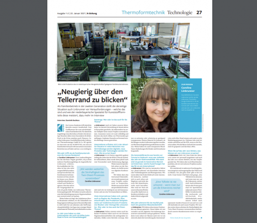 K-Zeitung Kunststoffprodukte Linbrunner